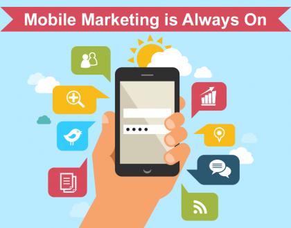 التسويق عبر الموبايل